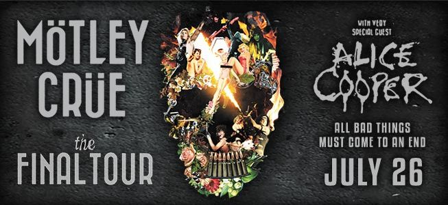 Mark Your Calendar For July 26th 2015 Motley Crue S All Good Things Must Come To An End Final Tour Is Coming To Bil Stuff To Do Event Calendar Motley Crue