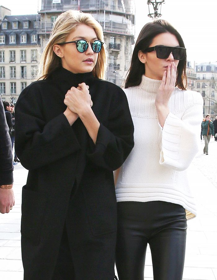 ac92d4f660 13 Candid BFF Pics of Kendall Jenner and Gigi Hadid