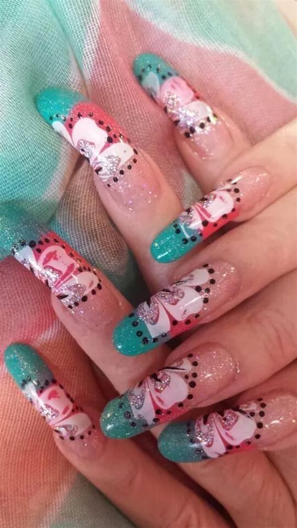 Day 114: Spring Mix Nail Art   Spring mix, Nails magazine and Art nails