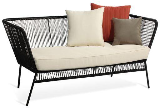Pin By Make My House Home On Terraza In 2020 Sofa Black Sofa Lounge Sofa