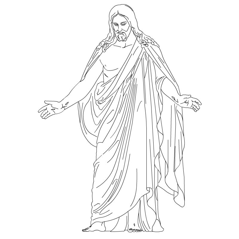 lds jesus jesus clip art christus resurrected lord and savior rh pinterest com lds clipart jesus christ lds jesus clipart