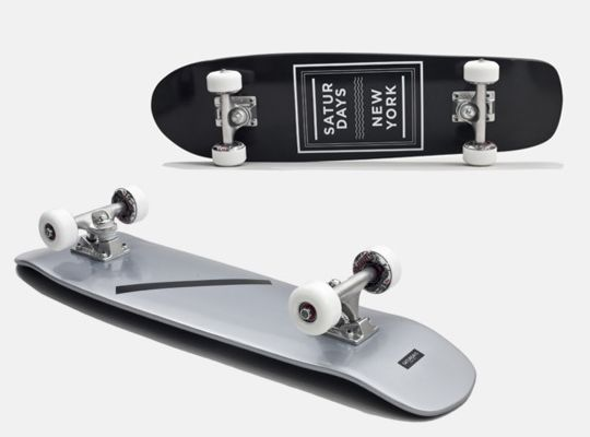 My of my fav brands Saturdays Surf NYC has tapped SHUT Skateboards to make boards for them.