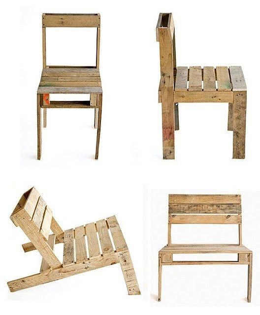 diy fauteuils en palettes d co r cup pinterest diy fauteuil fauteuil en palettes et. Black Bedroom Furniture Sets. Home Design Ideas