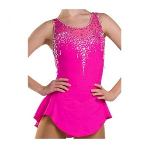 Ice Skating Dress Sleeveless Figure Skating Dresses For Girls ...