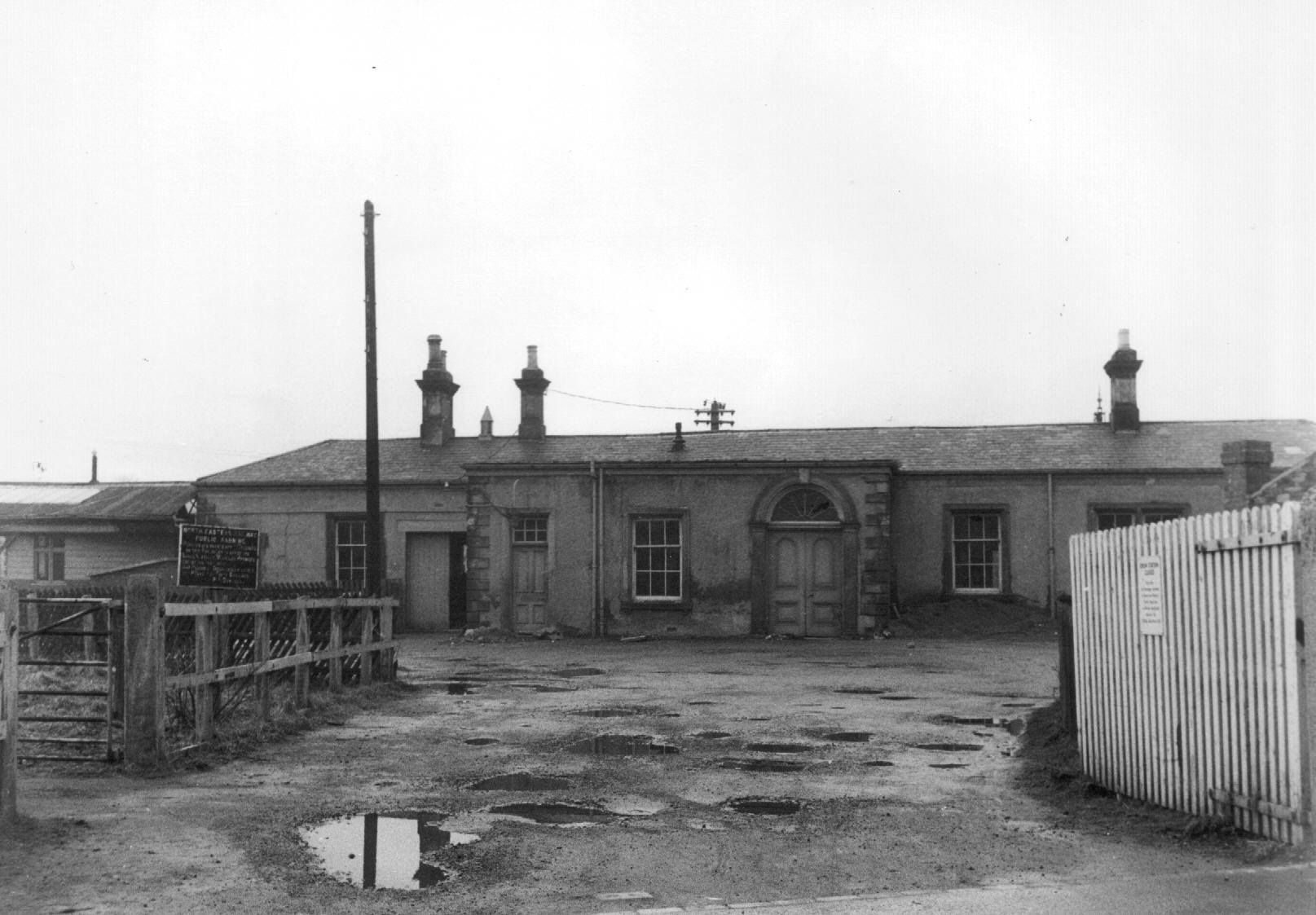 Crook Railway Station.