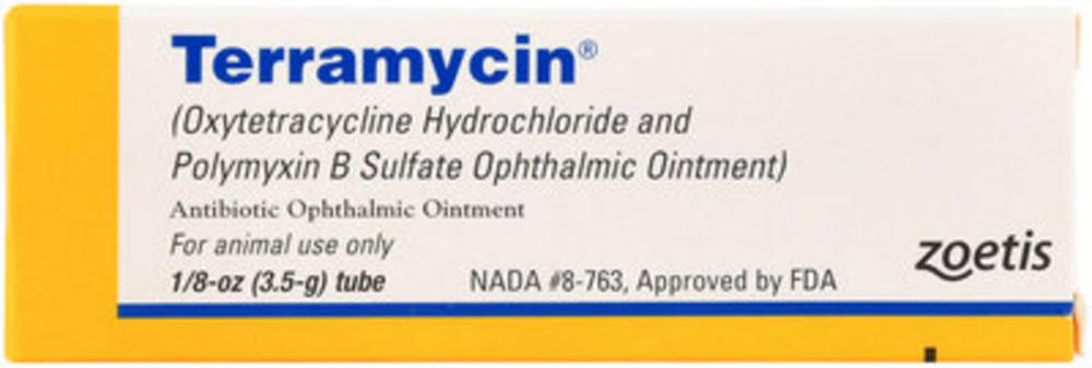 Terramycin Eye Ointment 1 8 Oz Ointment Eye Ointments Bad Allergies