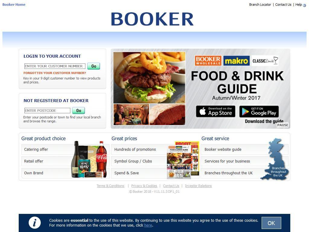 Booker cash carry cash carry wholesalers 22 inglis