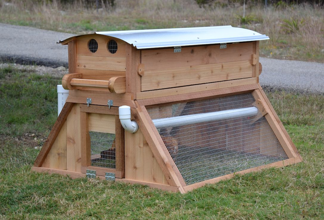 mobile coop easy fill chicken waterer urban backyard chicken