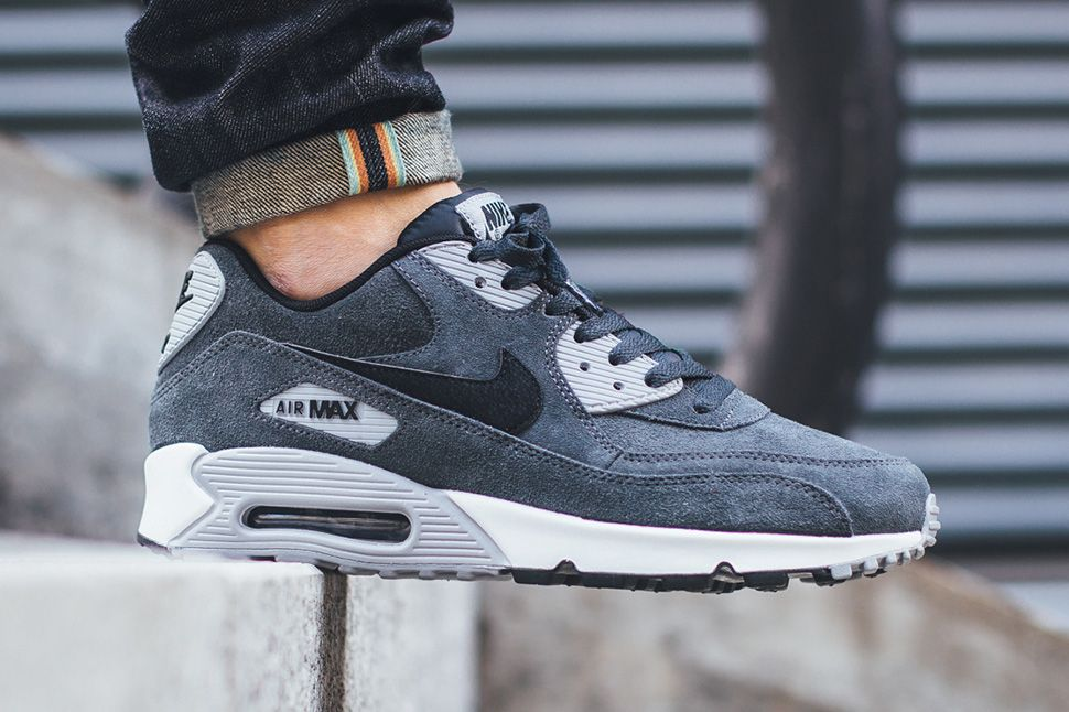 air max 90 essential black/white/cool grey/anthracite/wolf grey