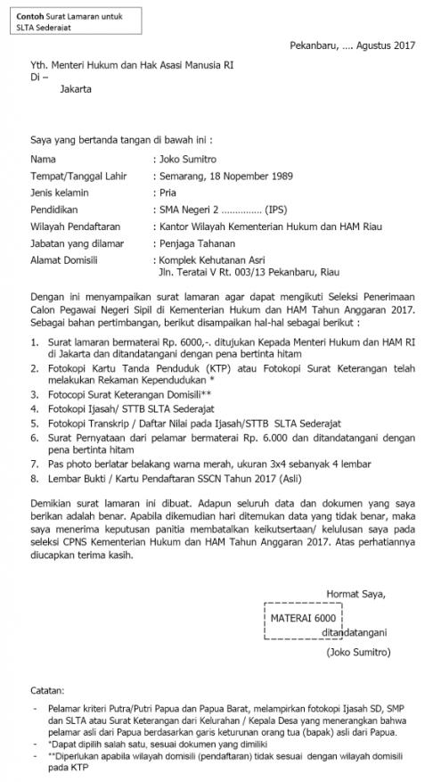 Contoh Surat Mandat Dari Orang Tua Id Lif Co Id