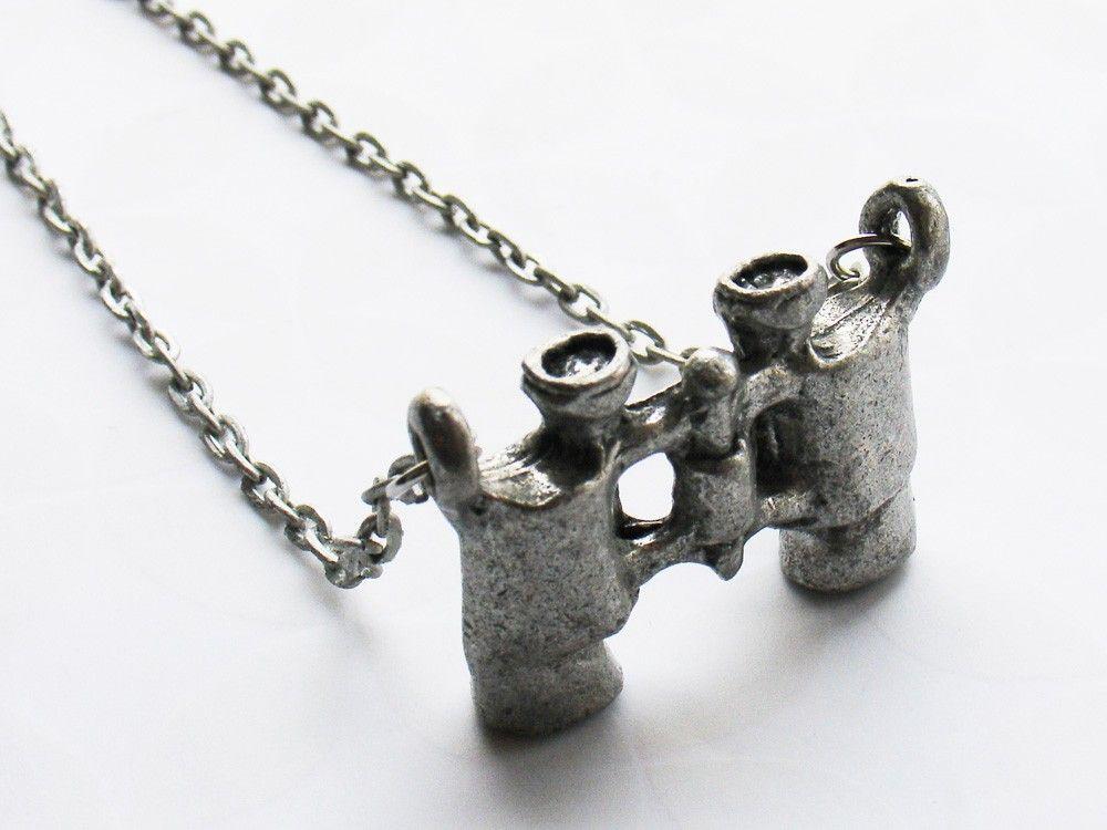 Vintage Style Binoculars Necklace