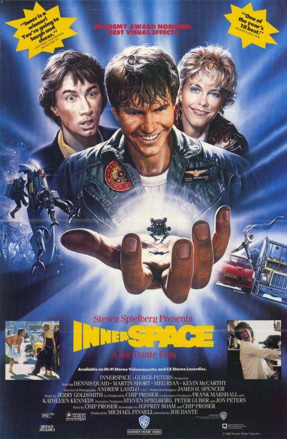 Classic Movie Corner Innerspace Warner Bros 1987 Com Imagens