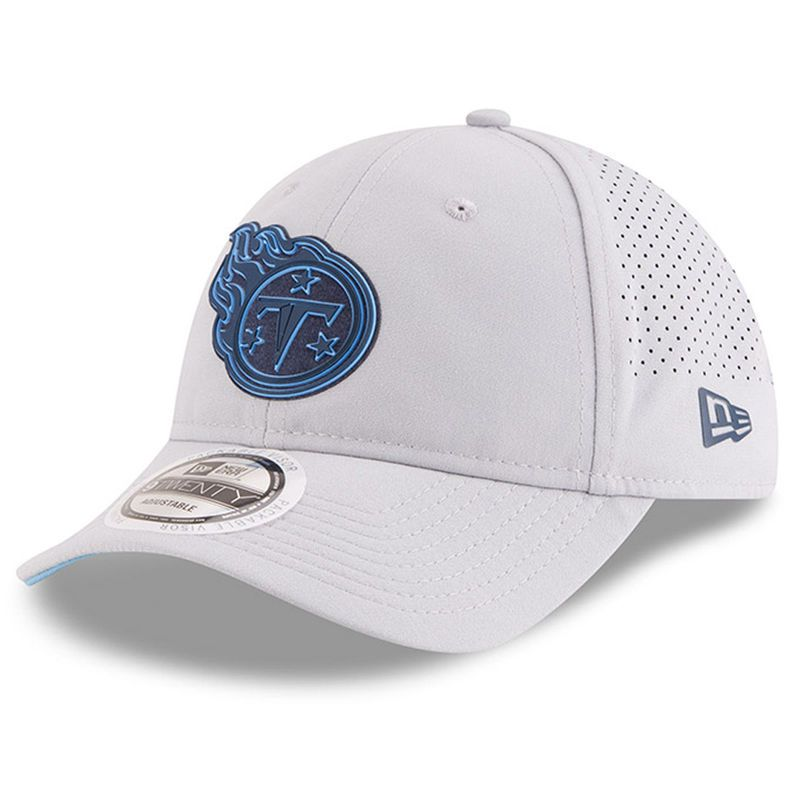 low cost e1974 ea32b Tennessee Titans New Era 2018 Training Camp Official 9TWENTY Adjustable Hat  – Gray