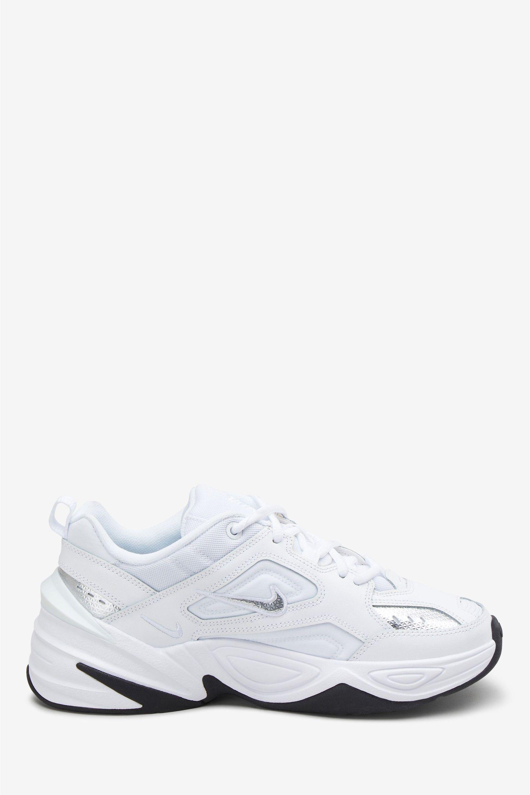 Womens Nike M2k Tekno Trainers White in 2020 | Nike, Nike
