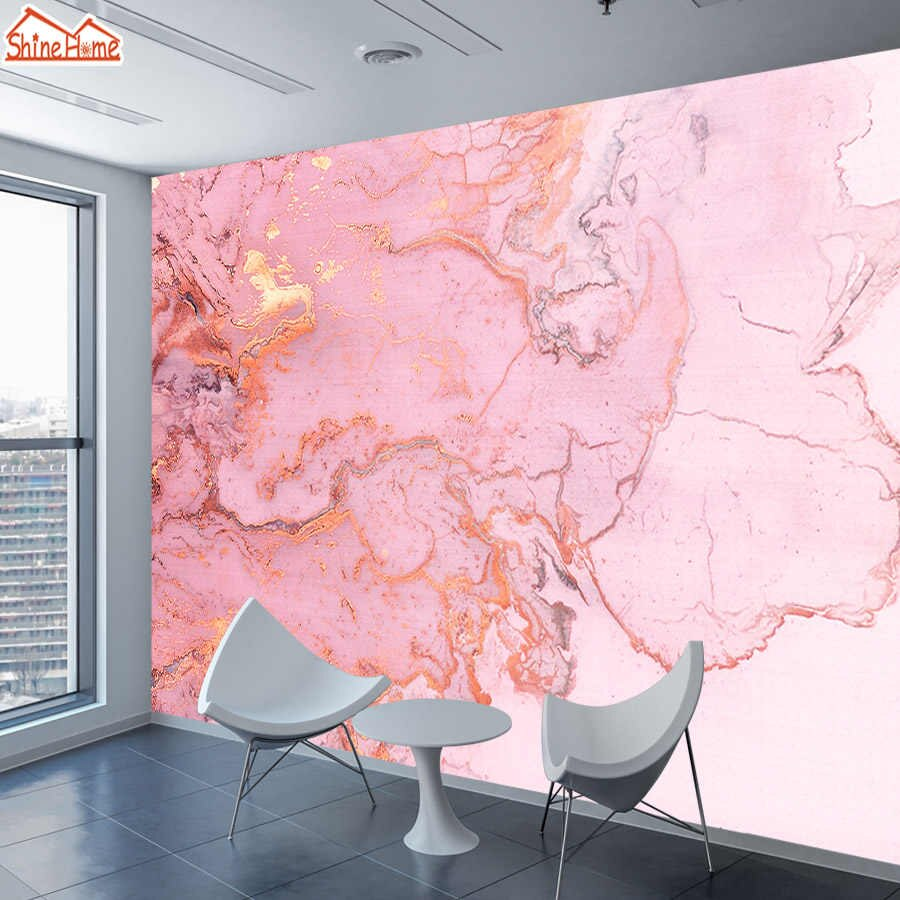 Pink Marble 3d Photo Mural Wallpaper Wall Paper Papers Home Decor Wallpapers For Living Room Bedroom Murals Rolls Pe Mural Wallpaper Wall Wallpaper Photo Mural