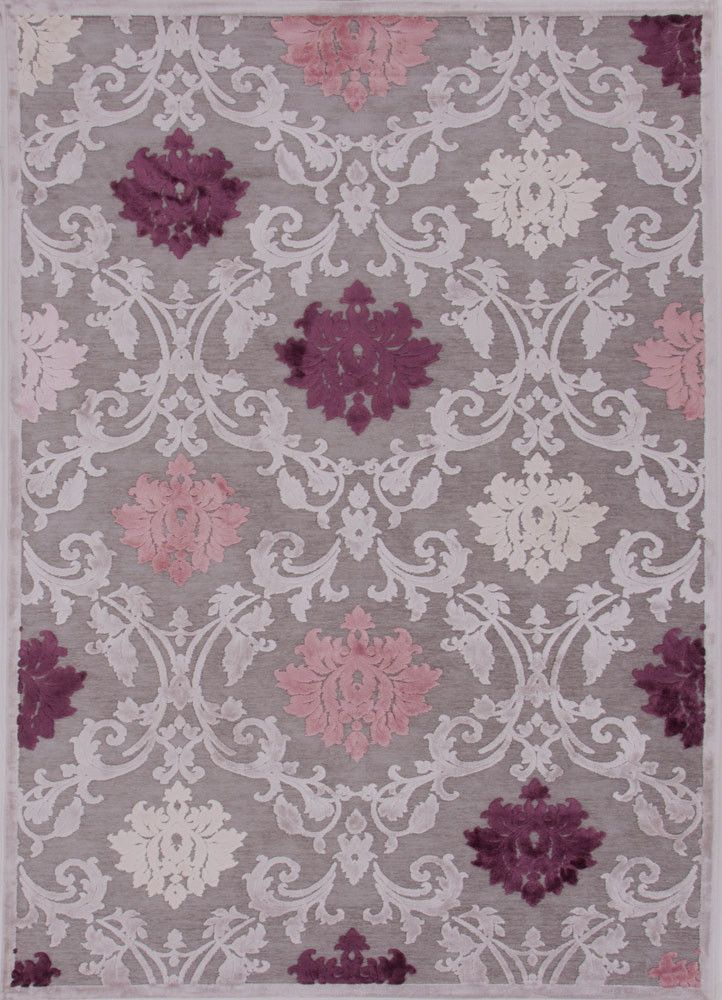 Fables Glamourous Gray Area Rug