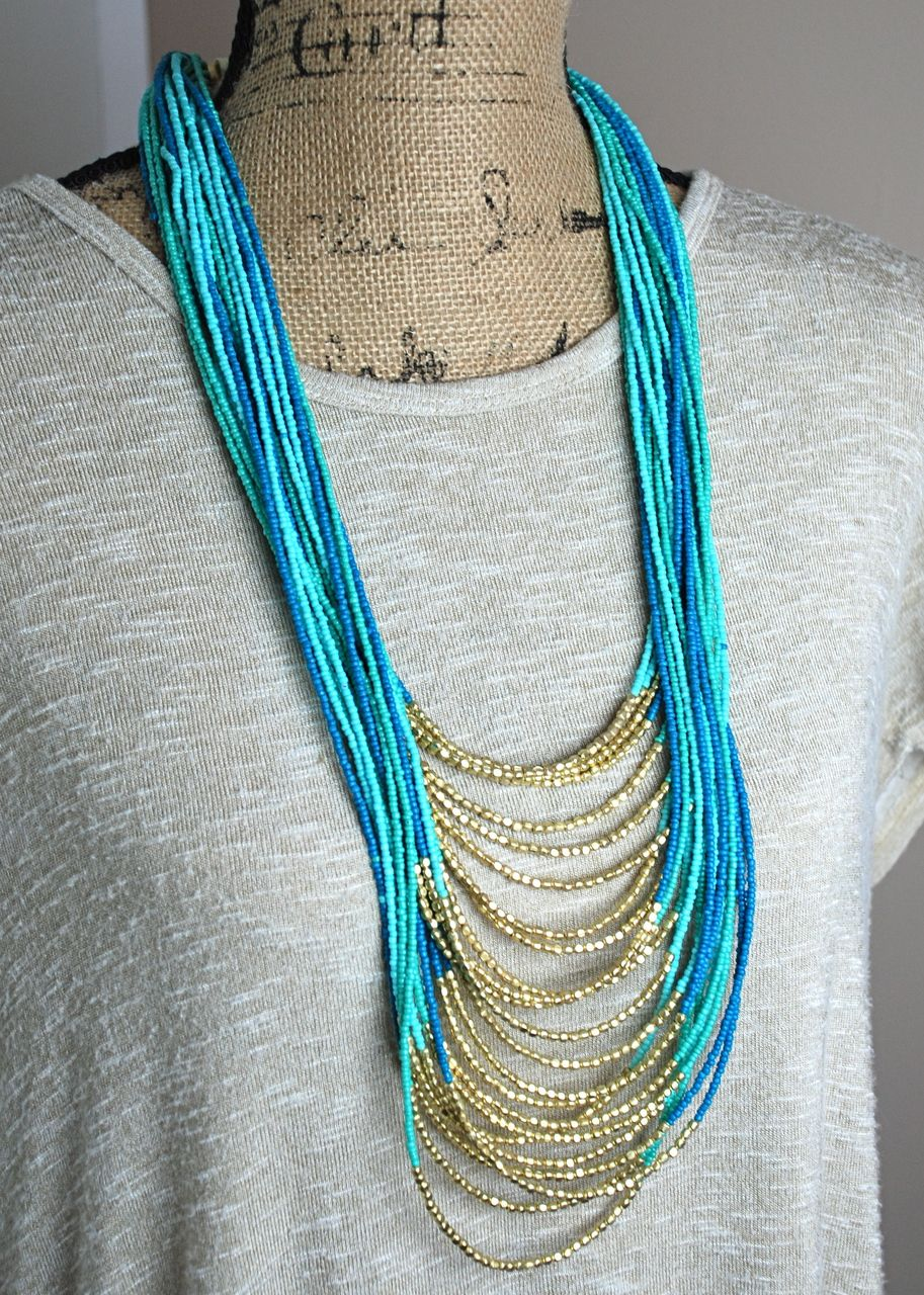 Found At Sea Necklace w/ Earrings - Simply M