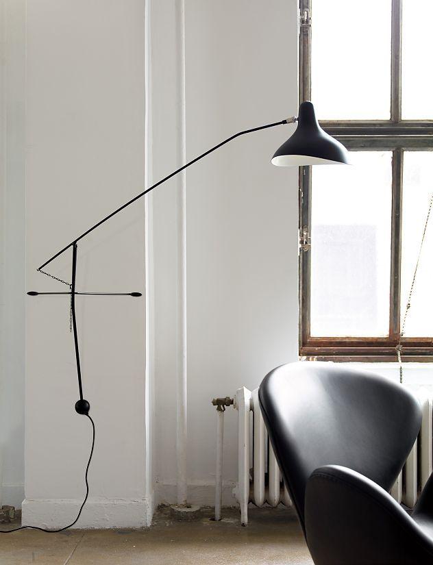 Mantis Bs2 Wall Lamp Wall Lamps Living Room Black Wall Lamps