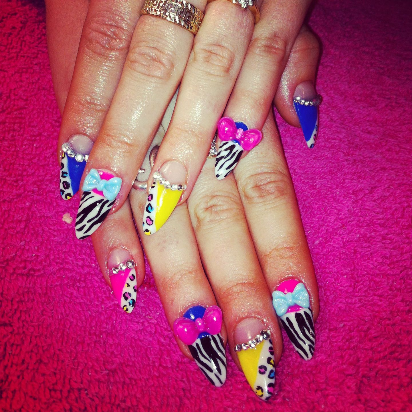 Nicki Minaj nails. MYX it up at MYXFusions.com | Nails | MYX ...