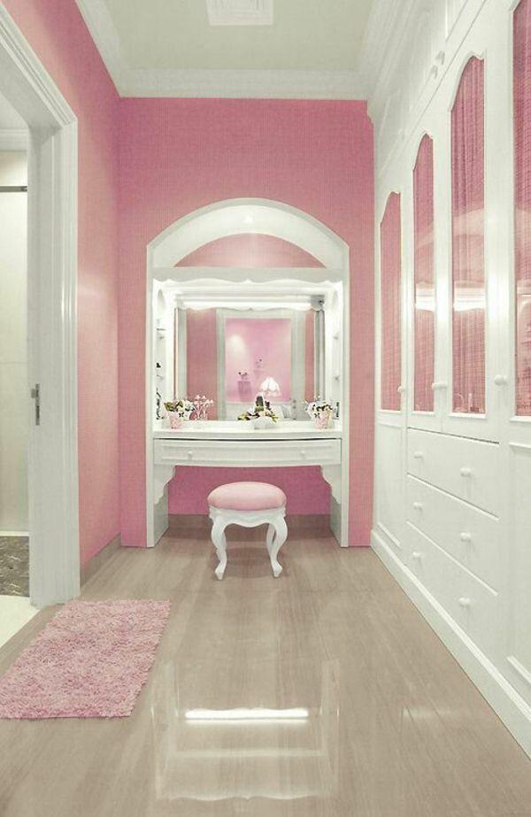 Ankleidezimmer Planen Walk In Garderobe Mit Stil Gestalten Rosa Schrank Ankleidezimmer Planen Rosa Hauser