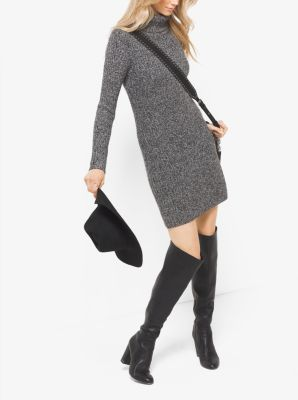 728f2a4179f MICHAEL MICHAEL KORS Wool-Blend Sweater Dress.  michaelmichaelkors  cloth