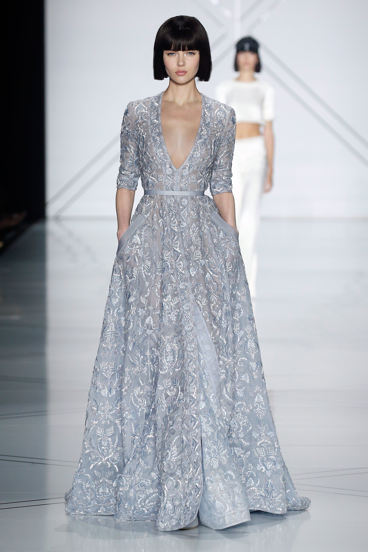 Ralph & Russo Spring 2017 Couture Fashion Show | Vestiditos, Alta ...