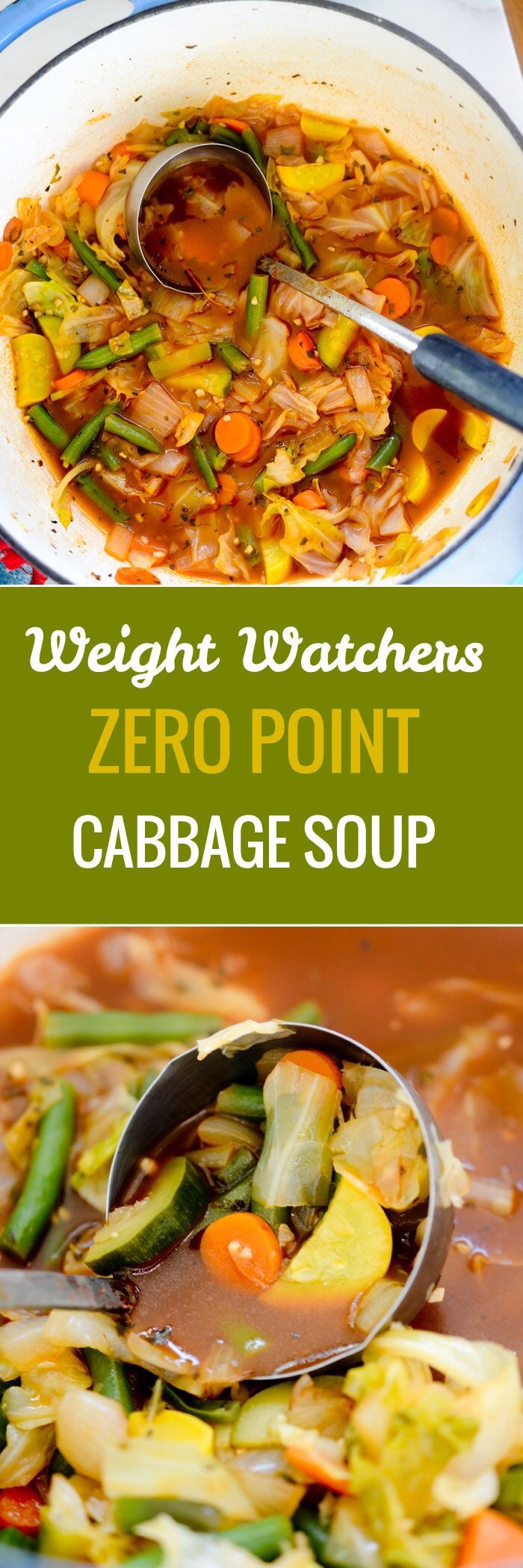 Pin by eleese lark on cuisine pinterest ww recipes food and weight watchers zero point cabbage soup you can eat as much of this weight watchers cabbage soup as you like because its only 22 calories per nvjuhfo Images