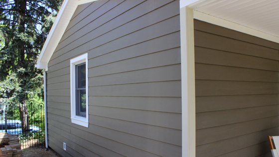 The Finished Project Includes Protective House Wrap Insofast Ex And James Hardie Fiber Cement Siding All Of These Thi Fiber Cement Siding Home Home Projects