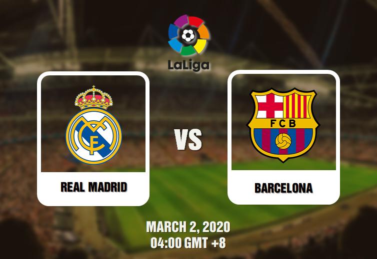Real Madrid Vs Barcelona Prediction 02 03 20 El Clasico In