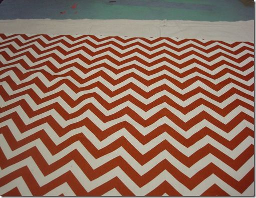 DIY rug - not just chevron.  Awesome!  I am so doing this, I have been too cheap to buy actual rugs!  You could actually buy the supplies in bulk and make one for each room!