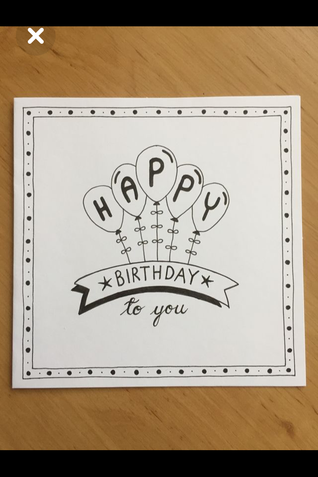 Pin By Vale On Nkk Birthday Card Drawing Hand Lettering Cards