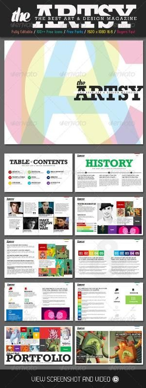 finally! a way to combat powerpoint bore! artsy magazine, Modern powerpoint