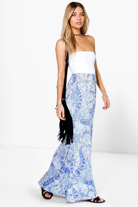 2ba9635b32a0 Elisha Paisley Bandeau Maxi Dress | A/W 2015 Things I need and want ...