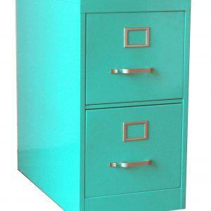 Bright Colored Metal File Cabinets
