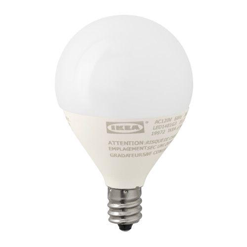 IKEA LEDARE LED bulb E12 200 lumen The LED light source consumes