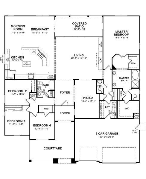 Beazer Home Stratford 252 Starting 3064 Sq Ft