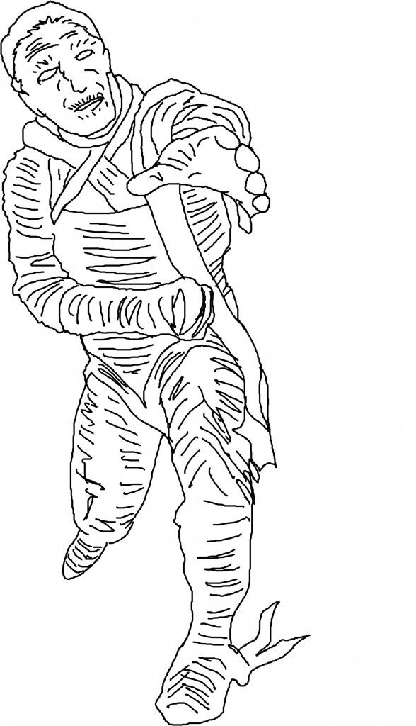 Printable Mummy Coloring Pages For Kidsfree Coloring Pages For