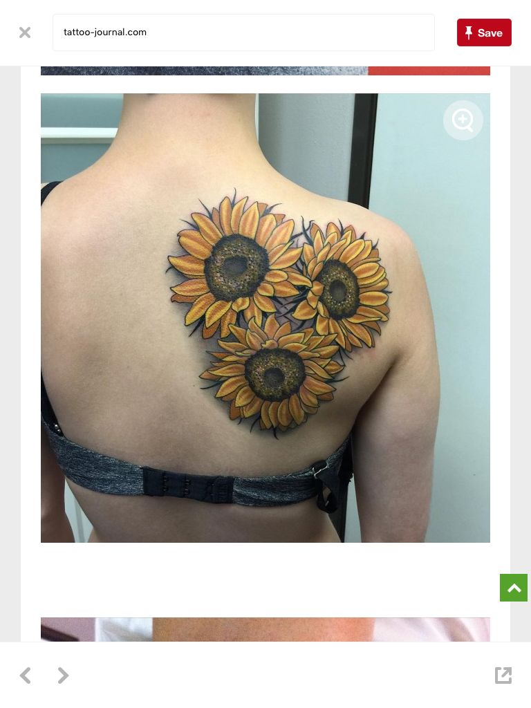 This next month, except on my arm and only one flower.
