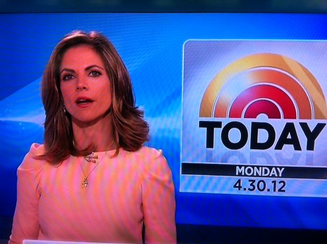 Natalie Morales looking amazing wearing our pocketwatch keys! #MonicaRichKosann