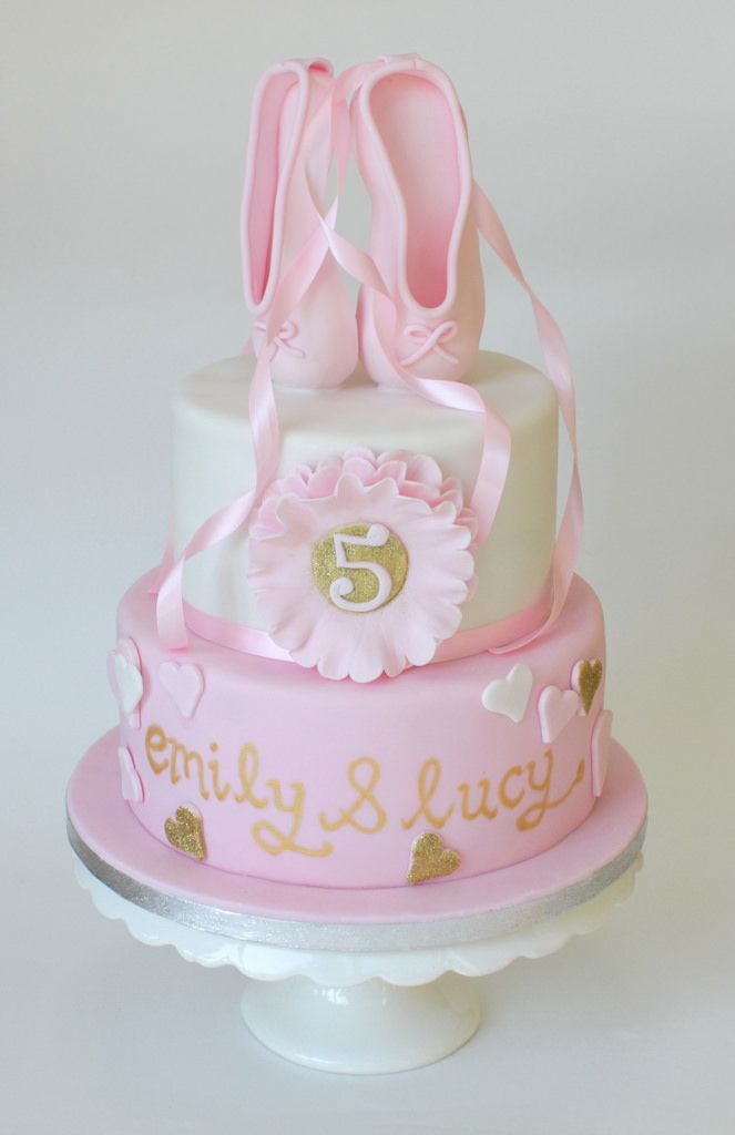 Ballet shoes cake ballet shoe cake and birthdays for Ballerina cake decoration