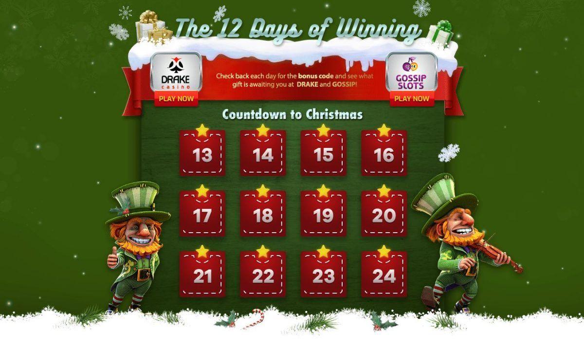 Xmas Calendar Free Spins Daily