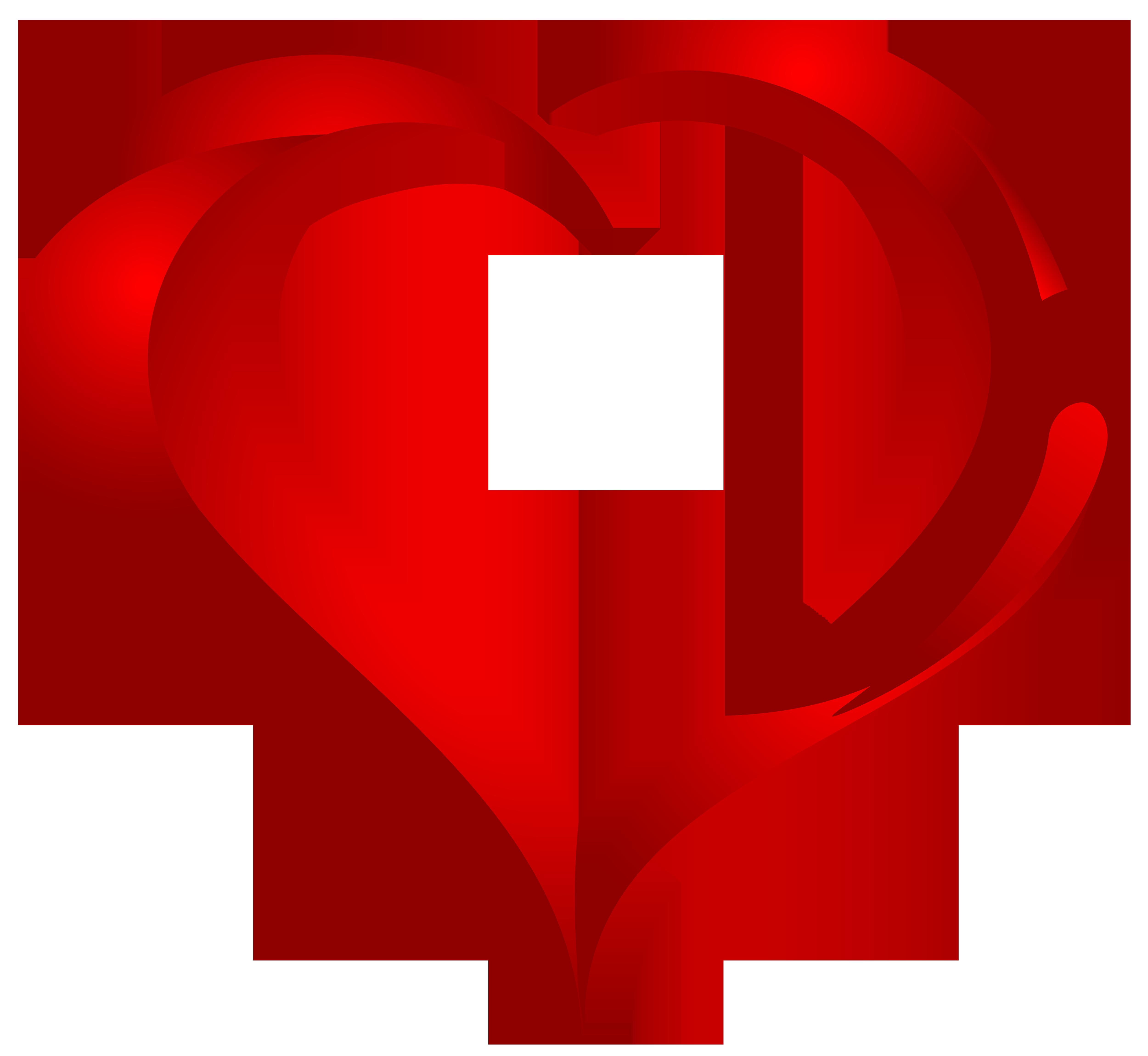 Beautiful Heart PNG Clipart