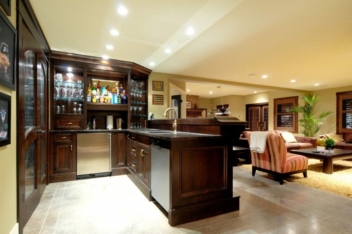 Unique Home Sports Bar Ideas