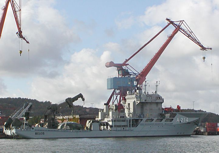 USNS Grapple - a modern naval rescue and salvage ship ... |Navy Salvage Ships