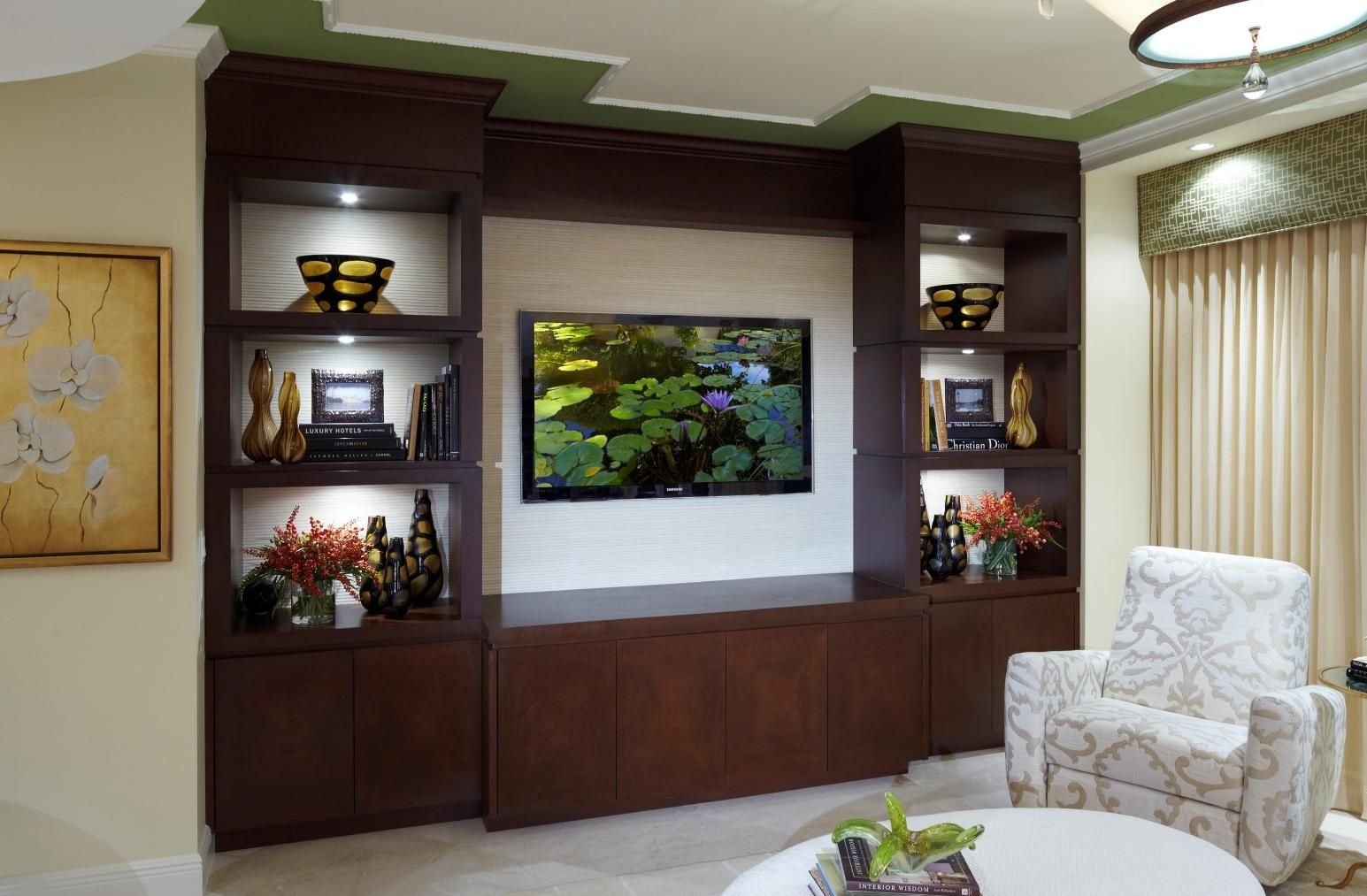 Living Room Entertainment Center Ideas