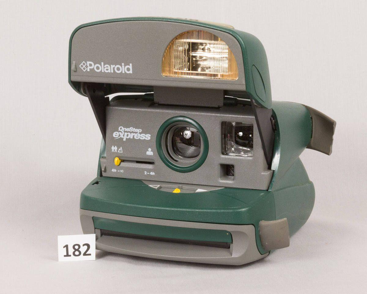 green polaroid onestep express instant camera with manual tested rh pinterest com polaroid onestep express 600 manual polaroid 600 express manual