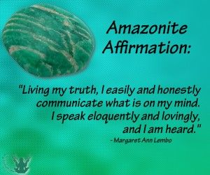 Amazonite Meditation Crystals Affirmations Holistic Healing
