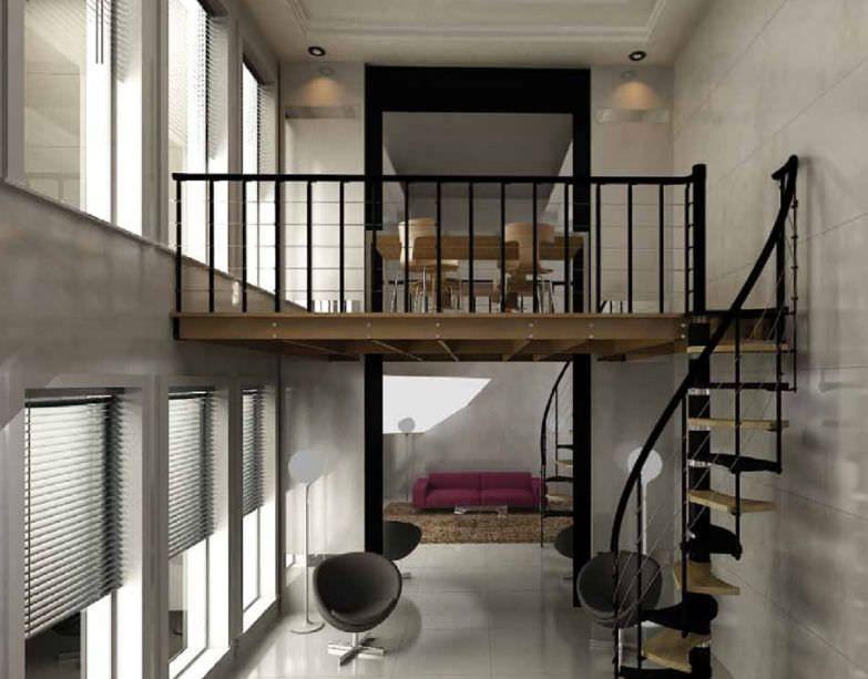 Mezzanine Railing Google Search Loft House House Styles
