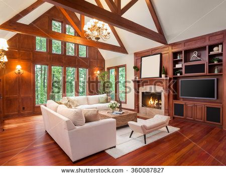 Beautiful Living Room Interior With Hardwood Floors And Fireplace In New Hardwood Floors Living Room Exterior