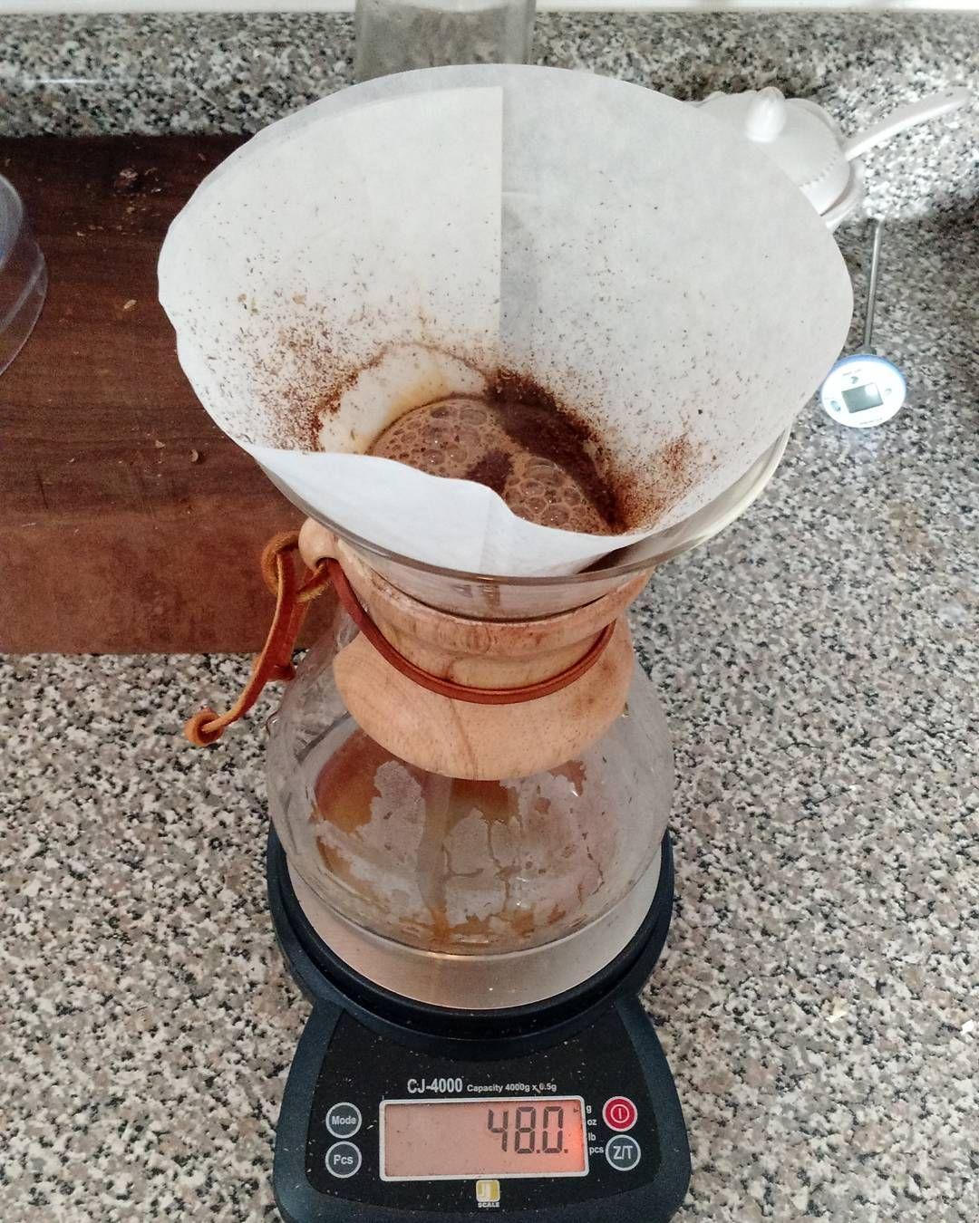 Coffee makes the world go round. And around forever. #coffee #chemex #mornjnf #breakfast #caffeine by kristianhansen